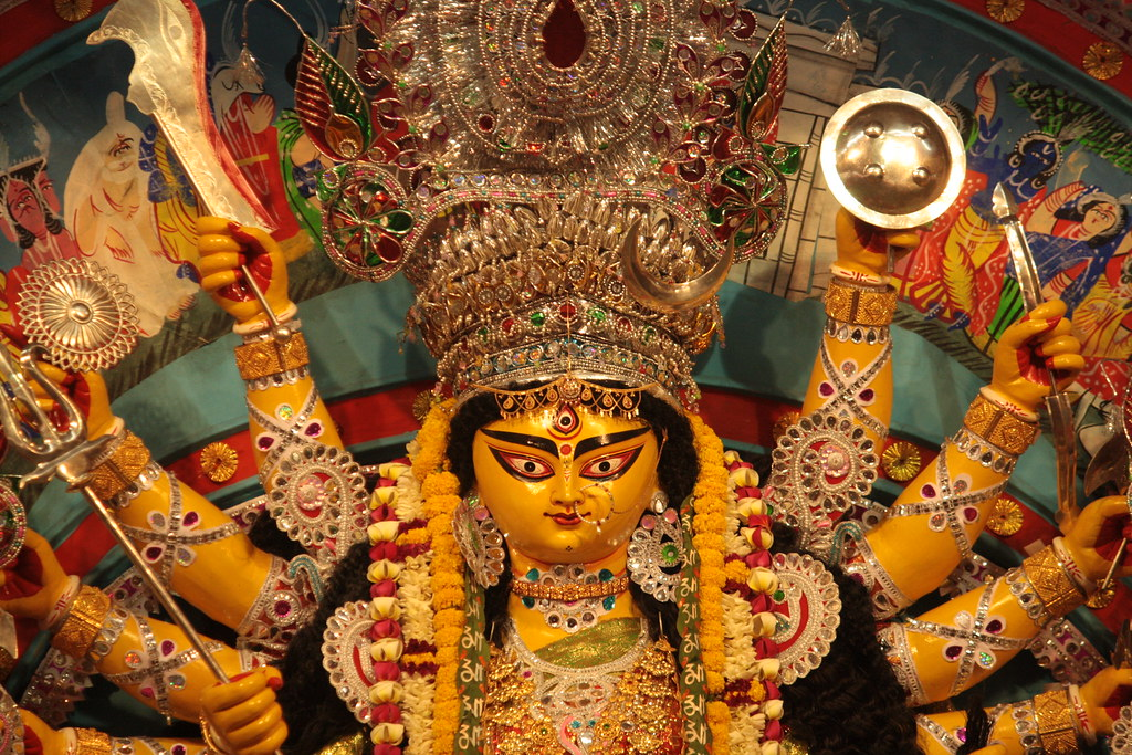 Devi Durga idol