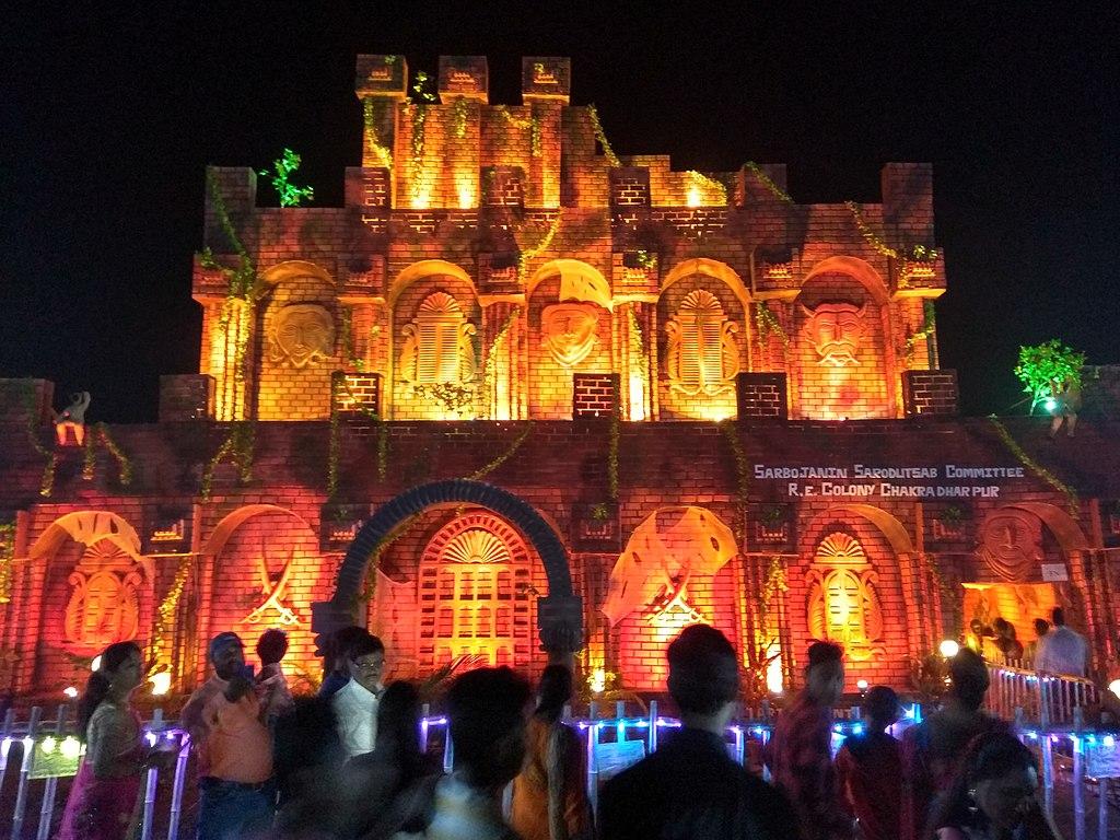 Durga_Puja_Celebrations - puja pandal in kolkata