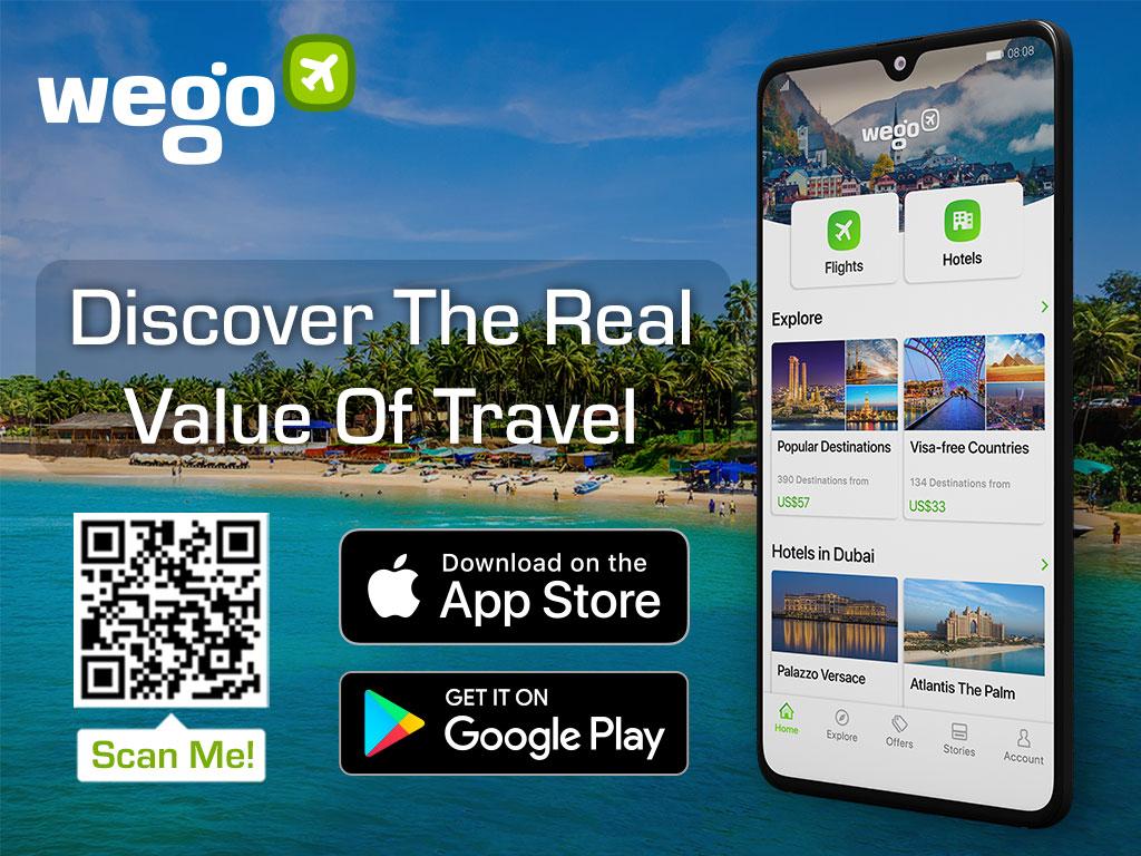 Goa's pristine beaches - Wego Travel app download
