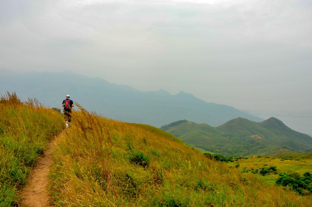 Lantau Peak - Hong Kong Fit Inspiration during Traveling