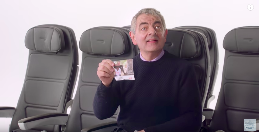 Boarding now – Mr Bean, Gordon Ramsay and more star in British Airways new safety video
