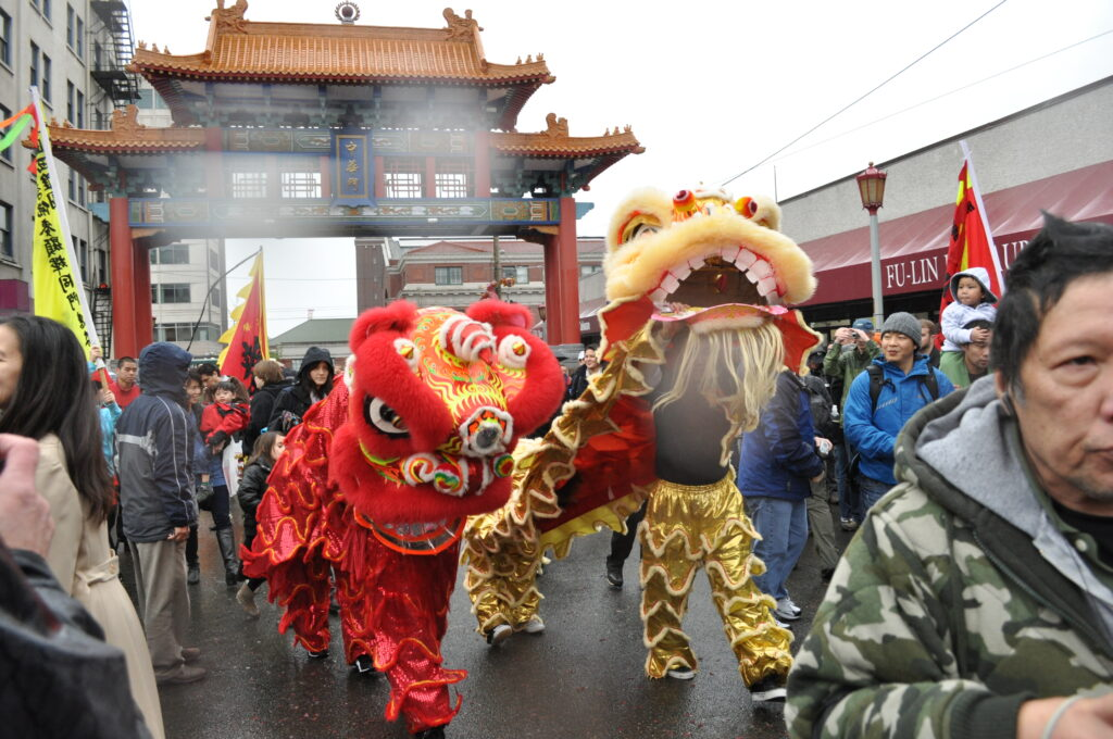 chinese new year parade in seattle