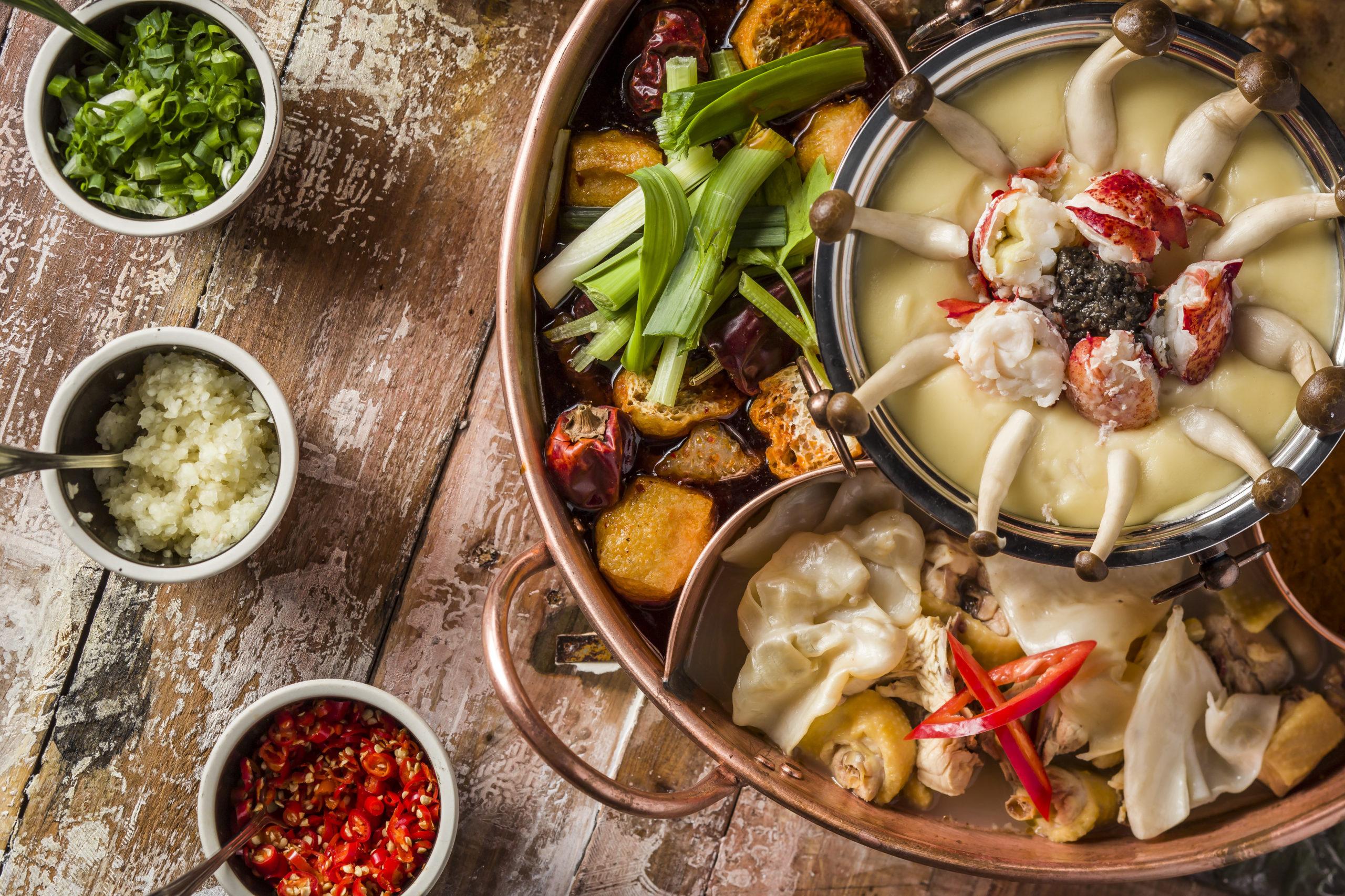 Winter Food in Hong Kong Drunken Pot