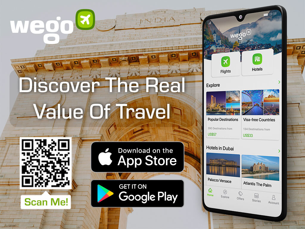Gateway of India in Delhi - Wego Travel App