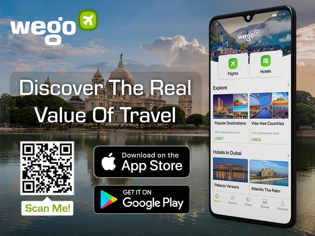 Kolkata heritage: Wego travel app download