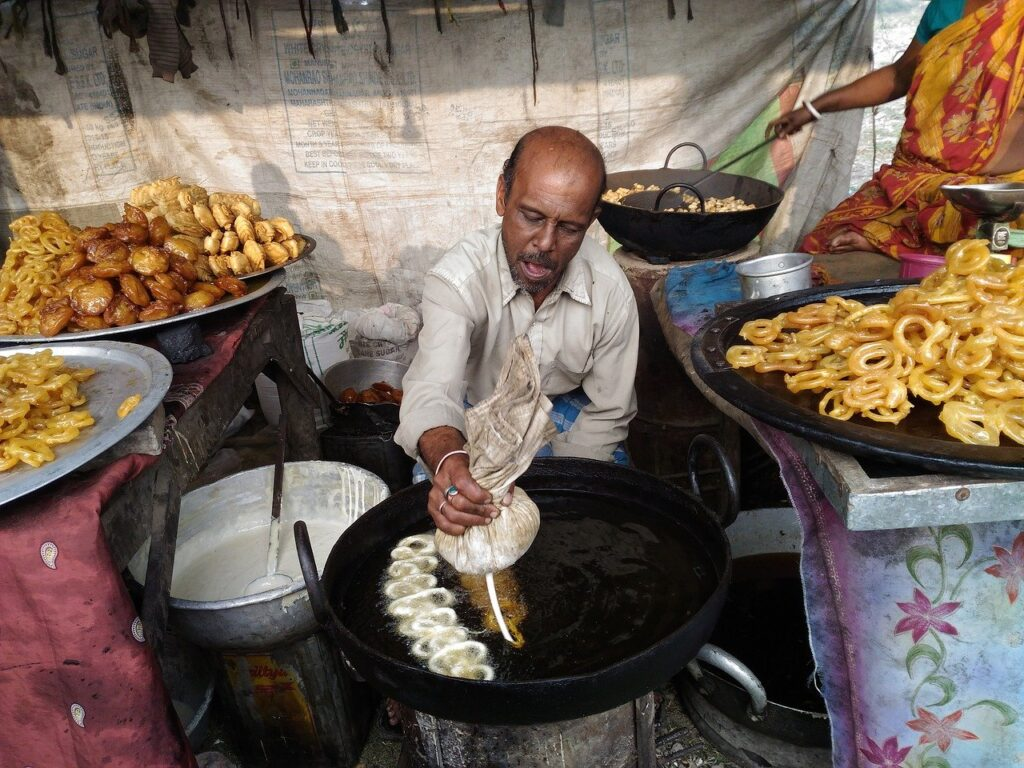 pongal street food in india